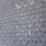 Лист стальной рифленый 4мм